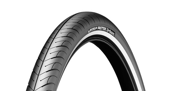 "Michelin Protek Urban renkaat 26"", heijastin , musta"